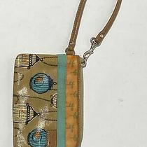 Fossil Key-Per Wristlet Wallet Coated Canvas Photo
