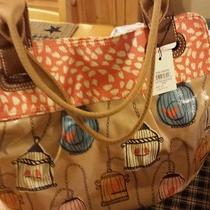 Fossil Keyper Bird Cage Shopper Tote Nwt Photo