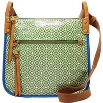 Fossil Keyper Crossbody Green Photo