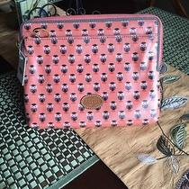 Fossil Keyper Cute Owl Keyper Tablet Sleeve Pouch New With Tags Photo