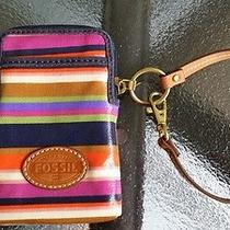 Fossil Keyper Iphone (5 5s 4s 4) Case Wristlet Wallet Photo