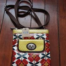 Fossil Keyper Mini Bag in Floral Print New With Tags  Photo