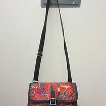 Fossil Keyper Mini Crossbody Messenger Floral Purse Bag Sl4139 Used Twice Photo