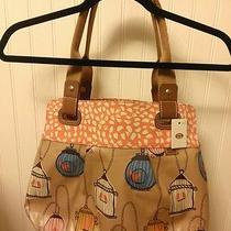 Fossil Keyper Shopper Bird Shoulder Bag Tote Photo
