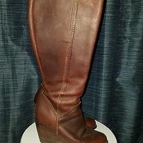 Fossil Knee High Wedge Boot Photo