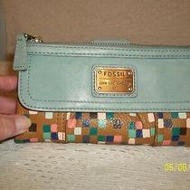 Fossil Ladies Leather Bifold Wallet Photo