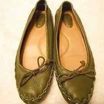 Fossil Ladies' Shoes Flat Size 8 Green Photo