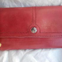 Fossil Ladies Tab Clutch Wallet Pink 7