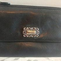 Fossil Large Black Leather Wallet Photo