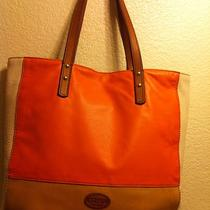 Fossil Large Leather Tote Bag Photo