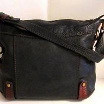 Fossil Large Pebbled Leather Tote Short Shoulder Bag Metal Key Handbag Purse Photo