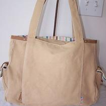 Fossil Large Tan Canvas Tote Photo