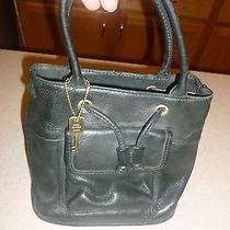 Fossil Leather Bag Handbag Purse Small Tote Photo