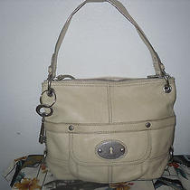 Fossil Leather Bag Shoulder Bag Purse  Photo