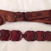Fossil Leather Belt Size L  Photo