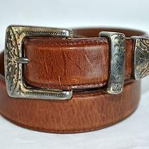 Fossil Leather Belt Size Medium Brown  Free Us Ship Photo