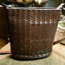 Fossil Leather Brown Handbag Photo