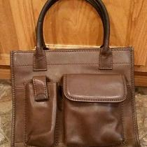 Fossil Leather Brown Purse Handbag Photo