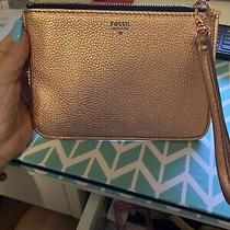 Fossil Leather Clutch Wallet Photo