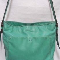 Fossil Leather Convertible Crossbody Messenger Bag Purse Photo