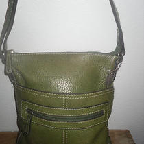  Fossil Leather Cross Body Sling Bag Shoulder Bag Purse Photo