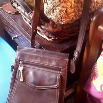 Fossil Leather Crossbody Bag Photo