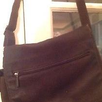 Fossil Leather Crossbody Messenger Computer School Bag Photo