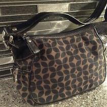 Fossil  Leather Fabric  Shoulder Bag Purse  Medium New Photo