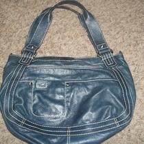 Fossil Leather Green Hobo Purse (Deep Green/teal Color) Photo