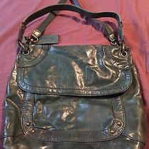 Fossil Leather Handbag- Green Photo