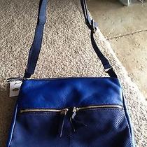 Fossil Leather Handbag ( Reg Price 168.00  ) Photo