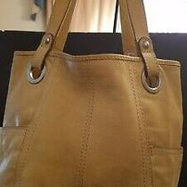 Fossil Leather Hathaway Carryall Tote Bag Photo
