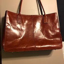 Fossil Leather Laptop Bag/briefcase/case Photo