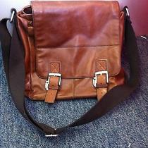 Fossil Leather Mens  Messenger Bag Photo