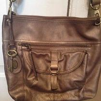 Fossil Leather Metallic Crossbody  Photo