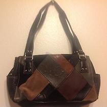 Fossil  Leather Purses Black With Other Color  Photo