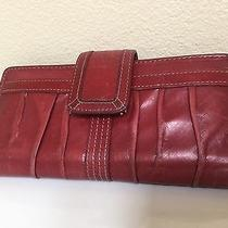Fossil Leather Red Wallet Photo