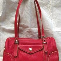 Fossil Leather Satchel Bag Purse Photo
