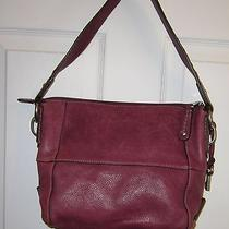 Fossil Leather Shoulder Purse Photo