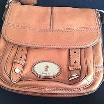 Fossil Leather Sidebag (Brown) Photo