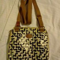 Fossil Leather Small Shoulder Cross Body Bag Purse Tote Satchel Handbag Photo