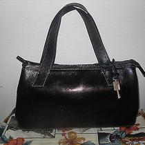 Fossil Leather Tote Bag Shoulder Bag Purse  Photo