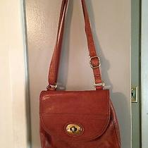 Fossil Leather Turnlock Crossbody With Organizer Photo