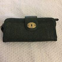 Fossil Leather Wallet Photo