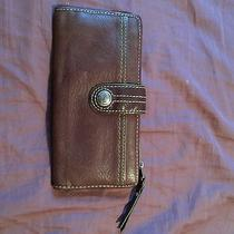Fossil Leather Wallet- Brown Photo