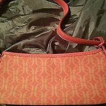 Fossil Leather With Print Satchel  Photo