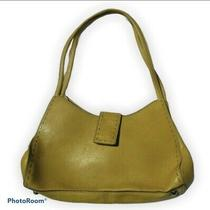 Fossil Leather Yellow/gold Medium Tote Photo