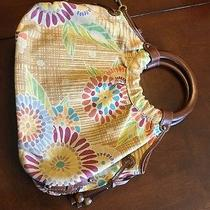 Fossil Light Yellow Printed Handbag  Photo
