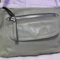 Fossil Lime Green Leather Hobo New  Photo