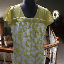 Fossil Lime Green  Shirt Size L  Excellent Photo